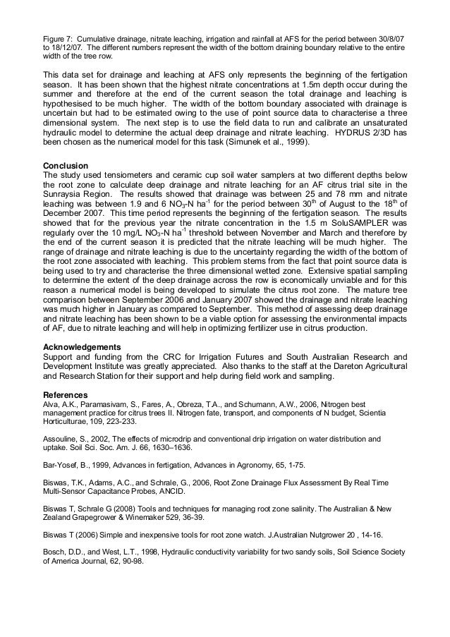 research papers on water quality analysis Water quality magazines water research publishes refereed, original research papers on all aspects of the science and technology of water quality and its.