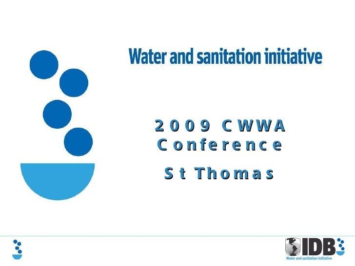 2009 CWWA Conference St Thomas