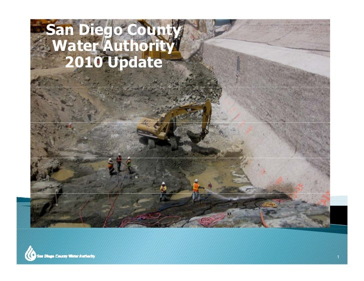 San Diego County  Water Authority                y   2010 Update                        1