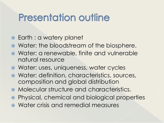 Water a wonder molecule Slide 2