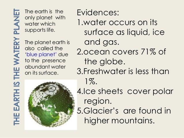 Water a wonder molecule Slide 3