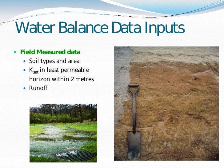 (PDF) Water Balance Study and Irrigation Strategies for ...