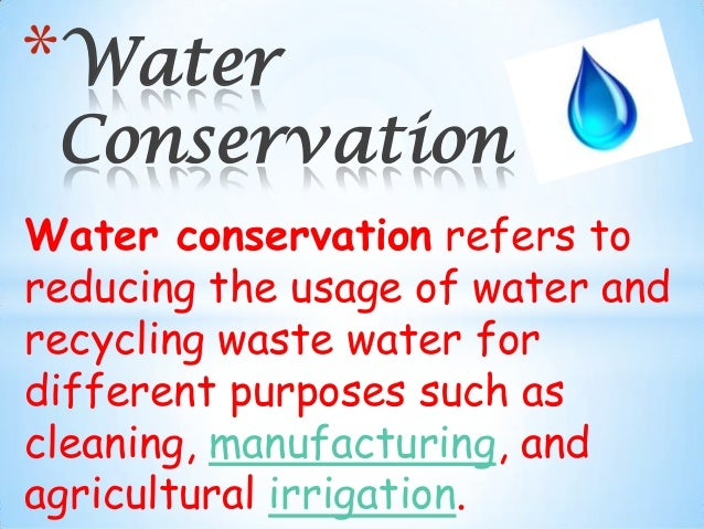 wastage of water and its conservation In our previous articles about water conservation and the limited supplies  patch  is a great example of the worst side of our wasteful practices.