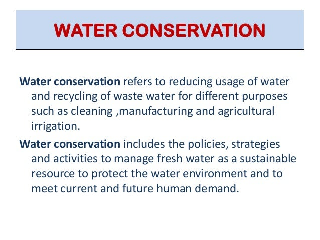 Why Is Water Conservation so Important?