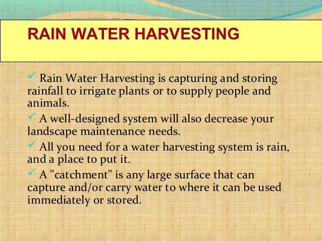 Water conservation rain water harvesting altavistaventures Images