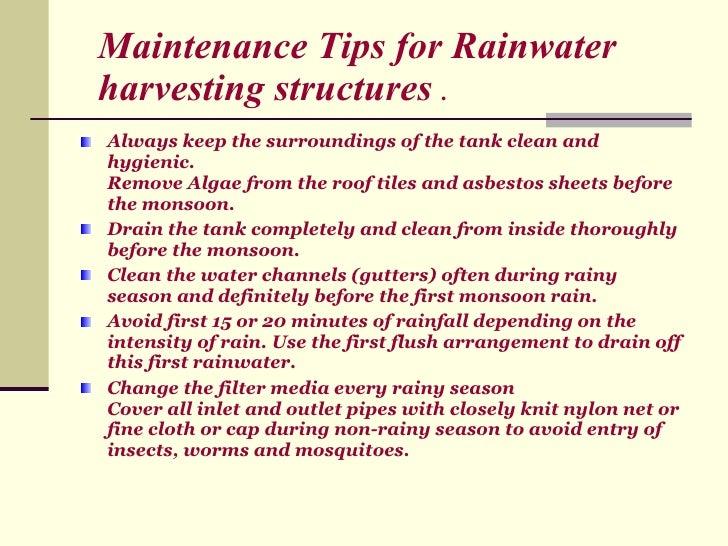 Water conservation namita reena for Explanation of rainwater harvesting