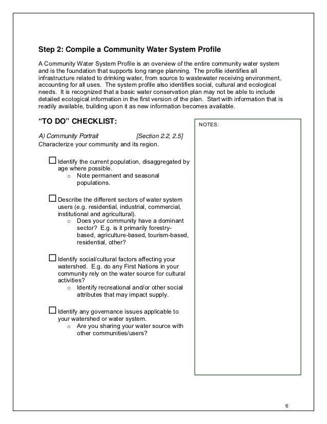 Water Conservation Planning Guide  British Columbia Canada