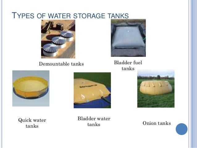 Water Conservation Storage And Appliances
