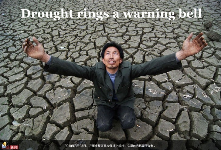 Drought rings a warning bell