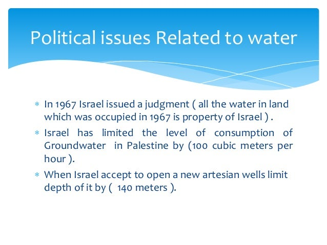 The israeli-palestinian conflict: old complications, new problems essay