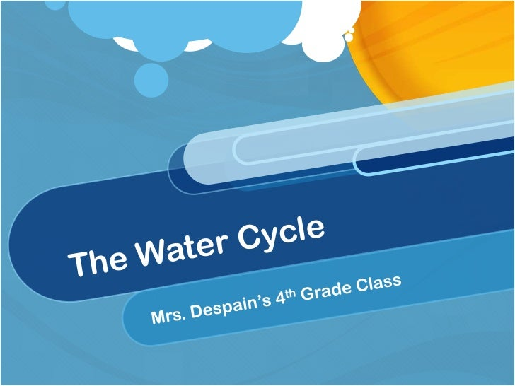 Contents Introduction The Water Cycle Movie Assignment Core Curriculum Work Cited Links