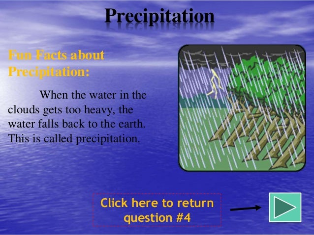Precipitation 44 Fun Facts