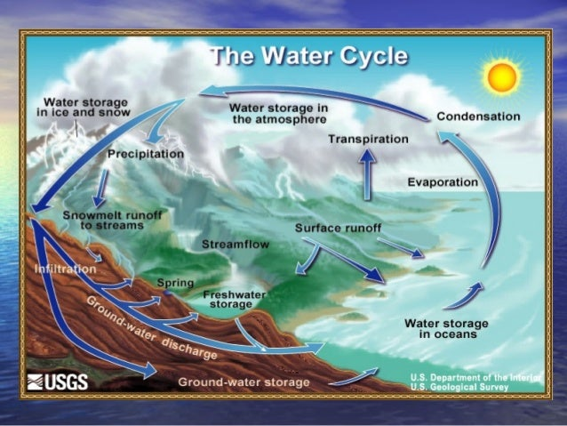 The water cycle  authorstream.