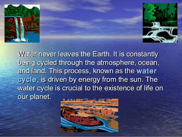 Water Cycle Ppt 1