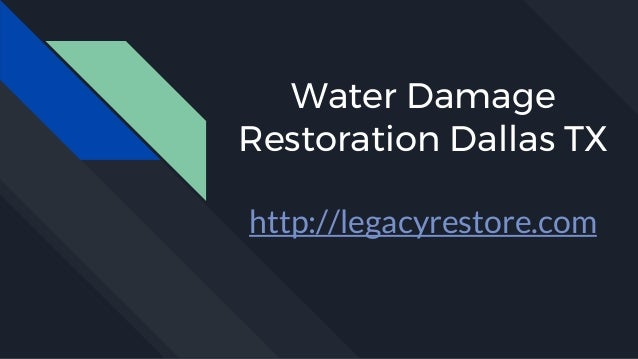 Water Damage Restoration Dallas TX