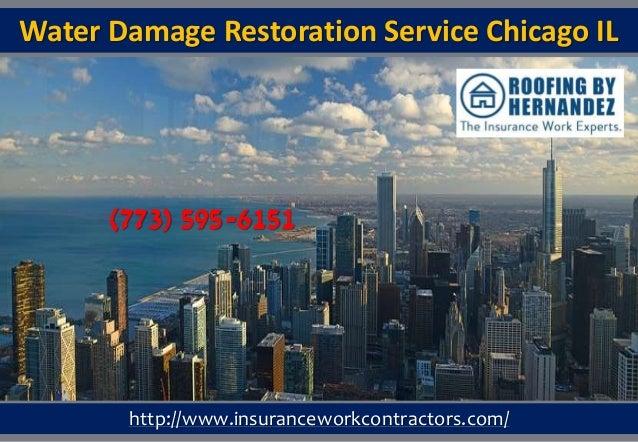 Water Damage Services : Water damage restoration service chicago il