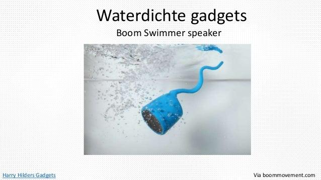 Harry Hilders Gadgets Waterdichte gadgets Boom Swimmer speaker Via boommovement.com