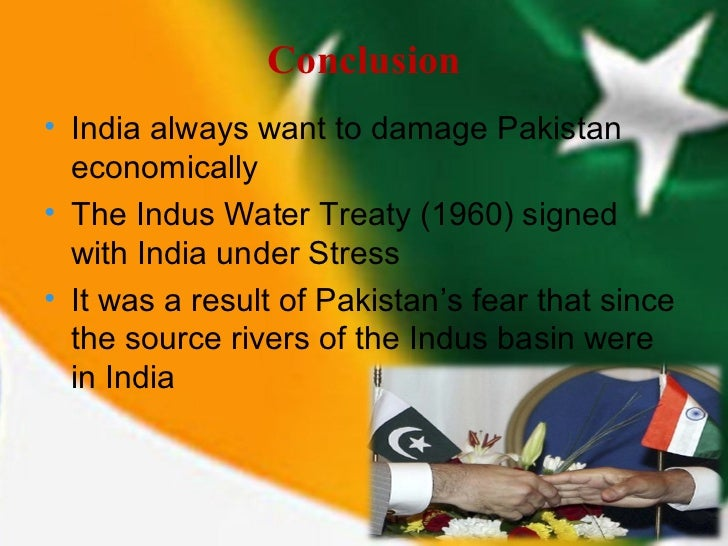 Pakistan india water dispute essay outline
