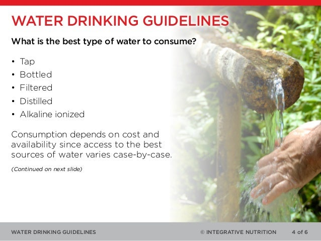 Drinking Water Chlorination Guidelines