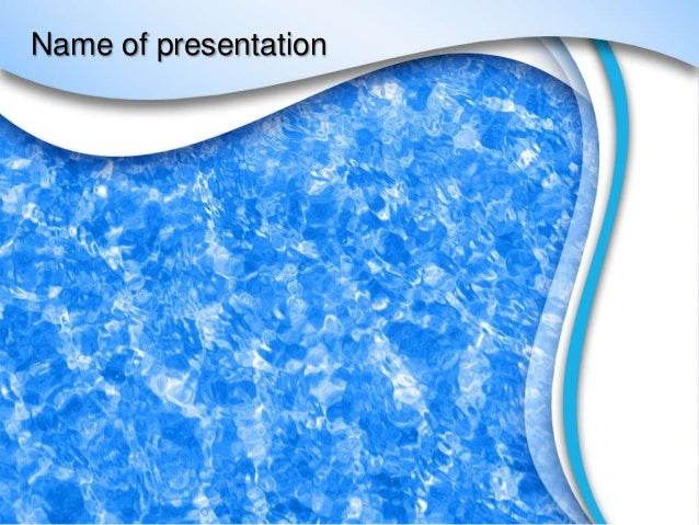 Water effect powerpoint template toneelgroepblik Images