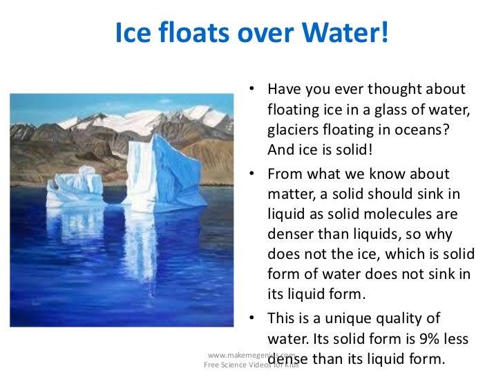 Water Eye Popping Interesting Fun Facts