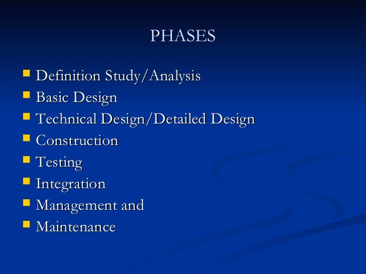 Waterfall for Waterfall design definition