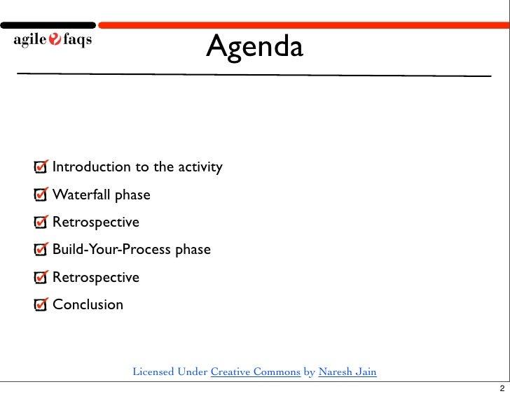 Waterfall to Agile Demo Slide 2