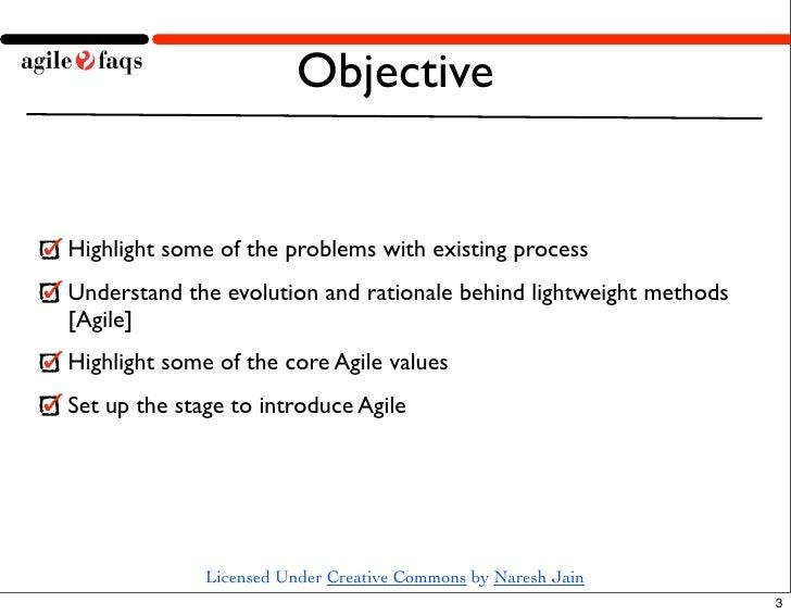 Waterfall to Agile Demo Slide 3