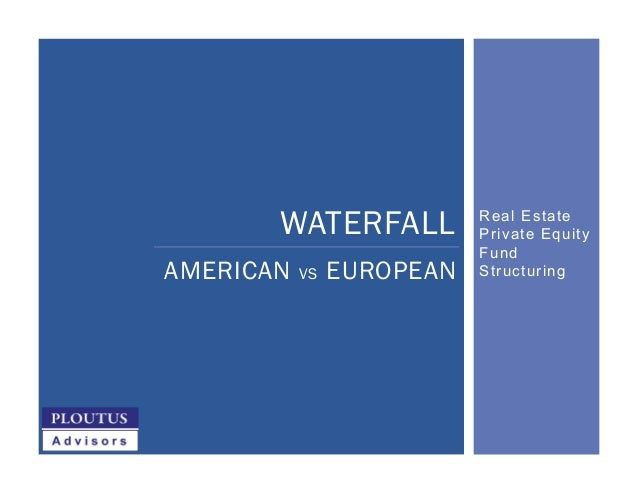 Real Estate Private Equity Fund Structuring WATERFALL AMERICAN VS EUROPEAN