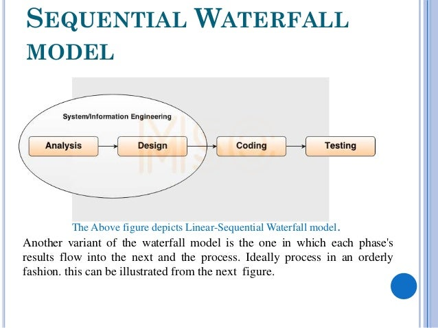 waterfall life cycle us in grading system The classic software life cycle is often represented as a simple prescriptive waterfall software phase model, where software evolution proceeds through an orderly sequence of transitions from one phase to the next in order (royce 1970.