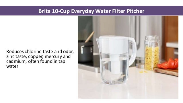 3 brita 10cup everyday water filter pitcher