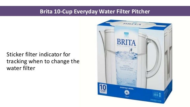 brita 10cup everyday water filter pitcher bpafree pitcher in clean white color and standard oval design 5