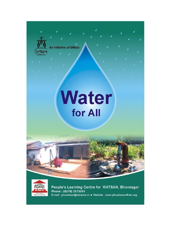 India;  Water for All