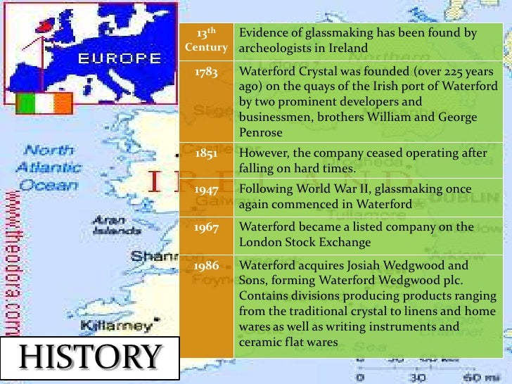 waterford wedgwood swot The demise of waterford wedgwood - 250 years after wedgwood was founded in stoke-on-trent and 226 years after waterford was founded in ireland - has come as a shock to many.