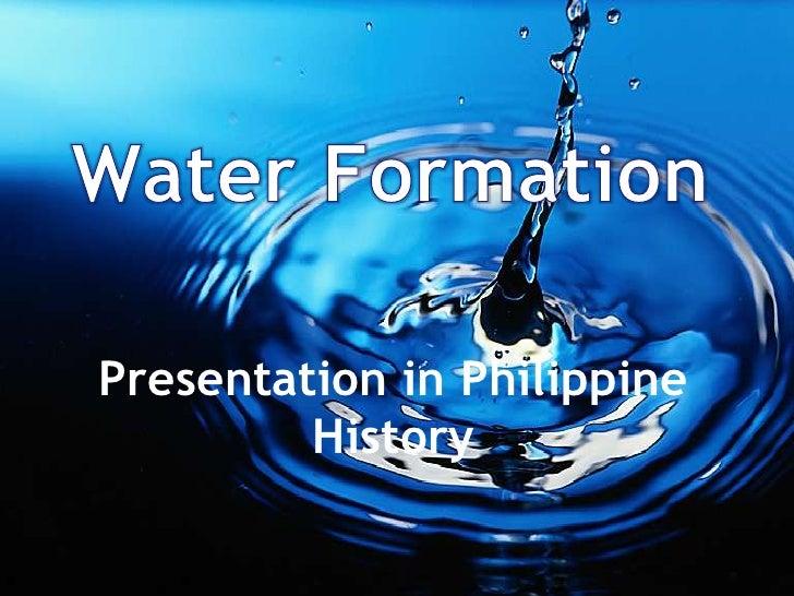Presentation in Philippine         History