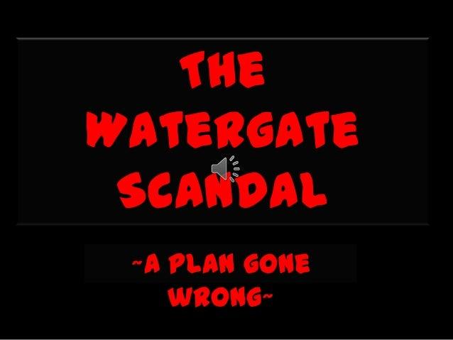 WatergatePRDisaster Slide 3