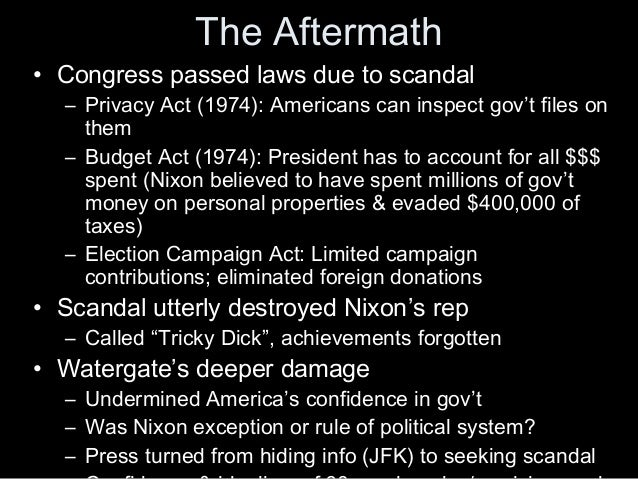 The Watergate ...
