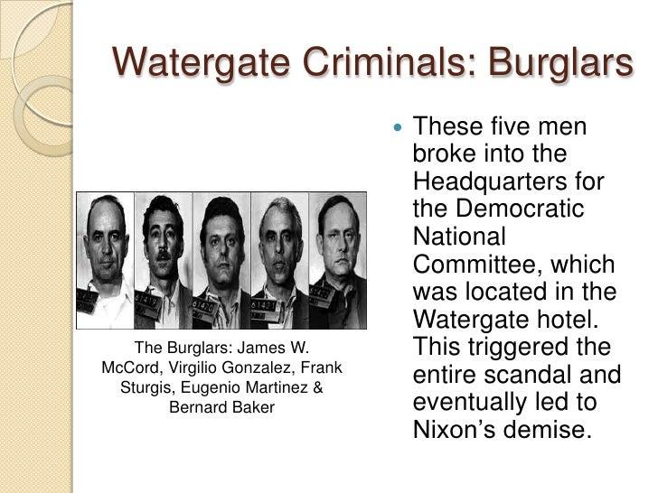 watergate scandal short summary