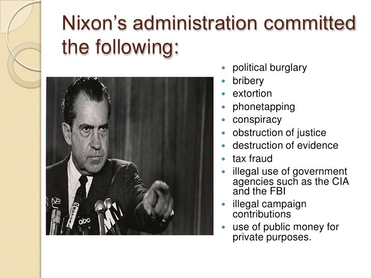 the life administration and scandal of richard nixon It seems as if the trump administration — or what remains of it richard nixon, had to say about the watergate scandal in his 1974 state of the union address morning joe helpfully spliced together the footage in the above segment on wednesday morning's show for those of us who aren't history buffs, and the similarities are indeed shocking.
