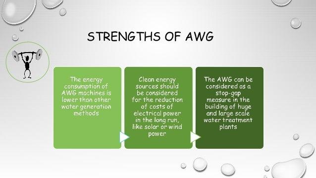 STRENGTHS OF AWG