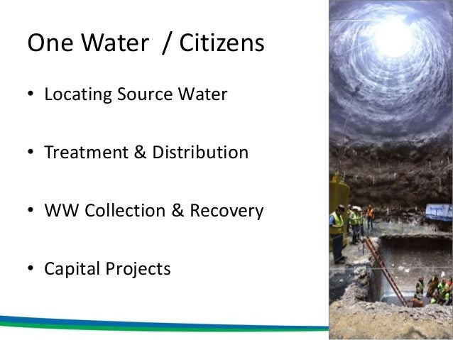 Water Infrastructure WS - Ryan Taylor Slide 3