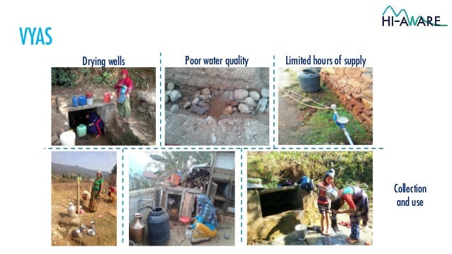 Water in Himalayan Towns