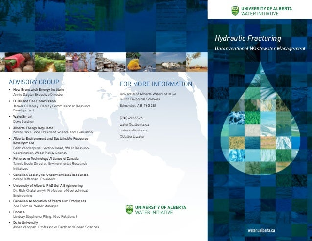 Water Initiative 2014 Canadian Water Network Research Project Overview Slide 2