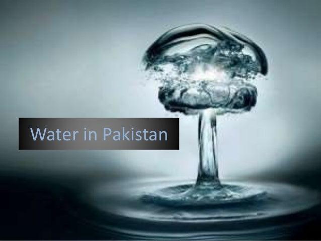Water in Pakistan