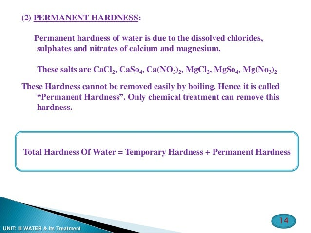 permanent hardness of water can be removed by