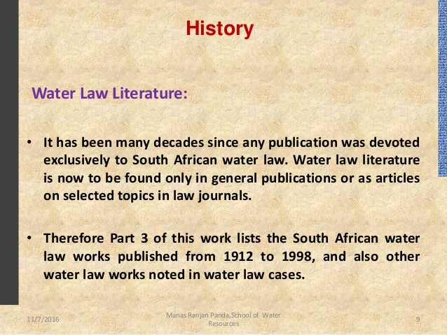 law and south african education Laws & regulations this act applies to school education in the republic of south africa 1south african schools act 84/1996 2minimum requirements of an.