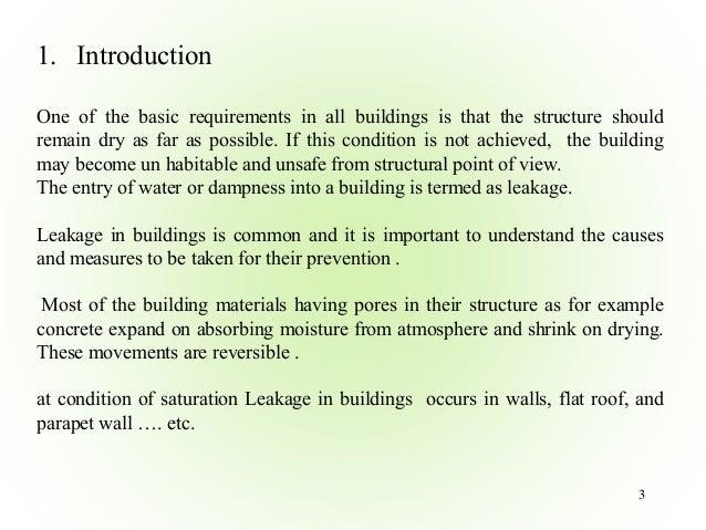 Water Leakage Problem