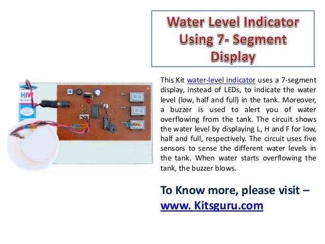 Scematic Diagram Panel  Water Level Indicator Using 7 Segment Display Ppt