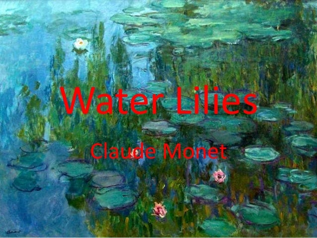 Water Lilies Claude Monet