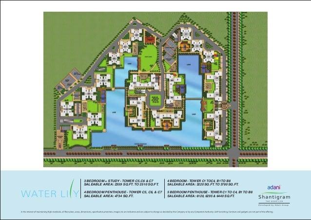 Adani Shantigram Water Lily Brochure Zricks Com